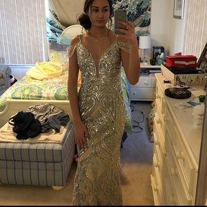 Off the shoulder Jovani Prom Dress